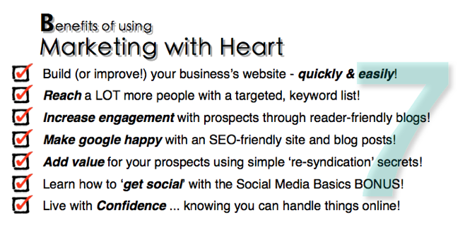 Benefits of Marketing with Heart