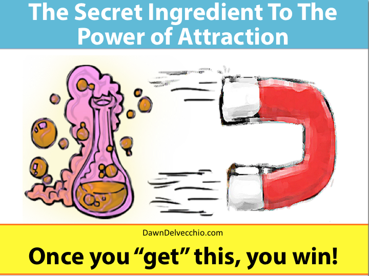 secret to law of attraction